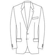 Made to Measure Single Breasted Classic Jacket - Cotton
