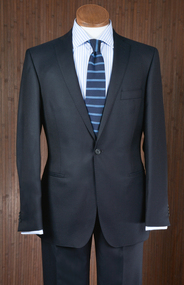 Midnight Wool Suit