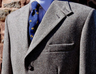 Stone Thornproof Tweed Jacket
