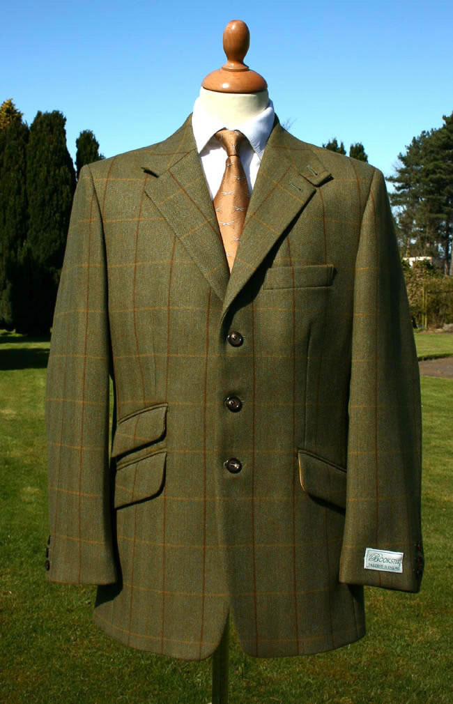 Lomond Tweed Hacking Jacket