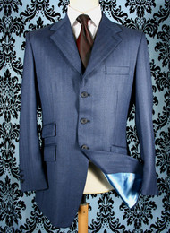 Indigo Cloth Hacking Jacket