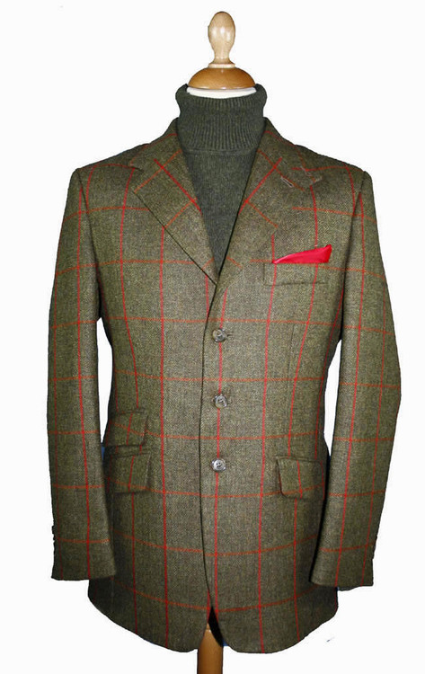 Gelly Tweed Hacking Jacket