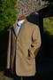 Fawn Herringbone Tweed Jacket