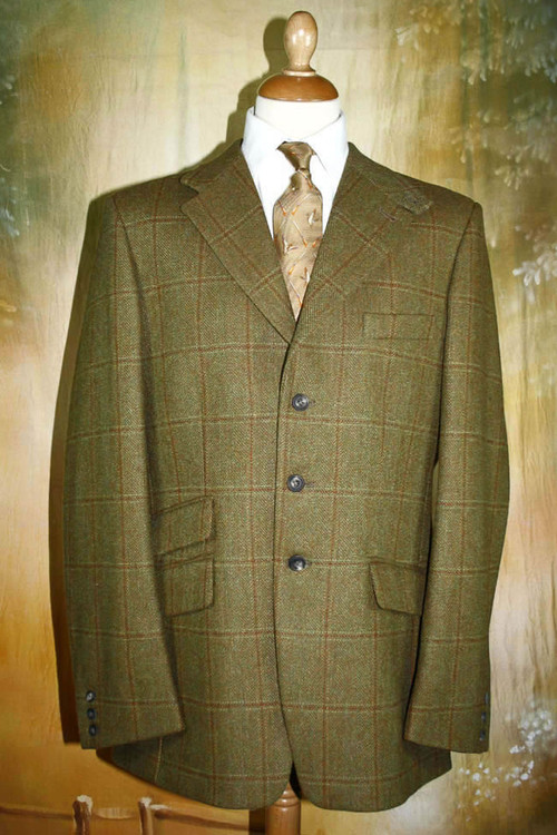 Douglaston Tweed Hacking Jacket