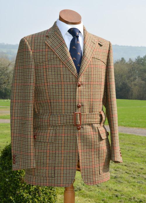 Chatsworth Tweed Full Norfolk Jacket