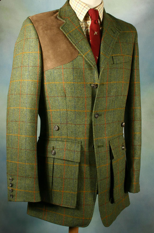 Awe Tweed Shooting Jacket