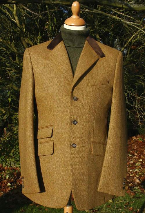 Autumn Leaf Tweed Hacking Jacket