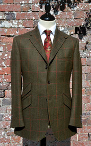 Magnus Tweed Hacking Jacket