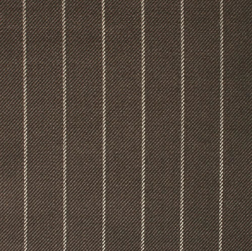 Brown 1.5cm Chalk Stripe