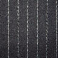 1.5cm Charcoal Chalk Stripe