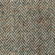 Beige Herringbone Harris Tweed