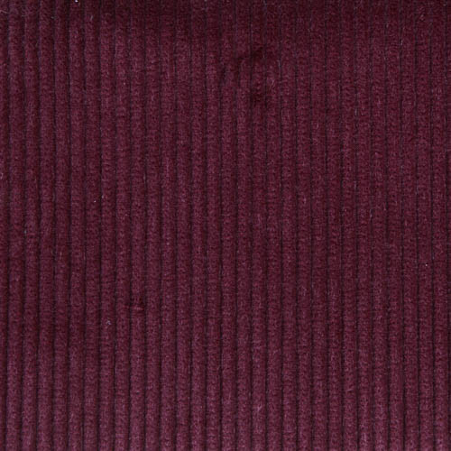 Burgundy 8 Wale Cord