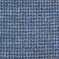 Blue Houndstooth Tweed