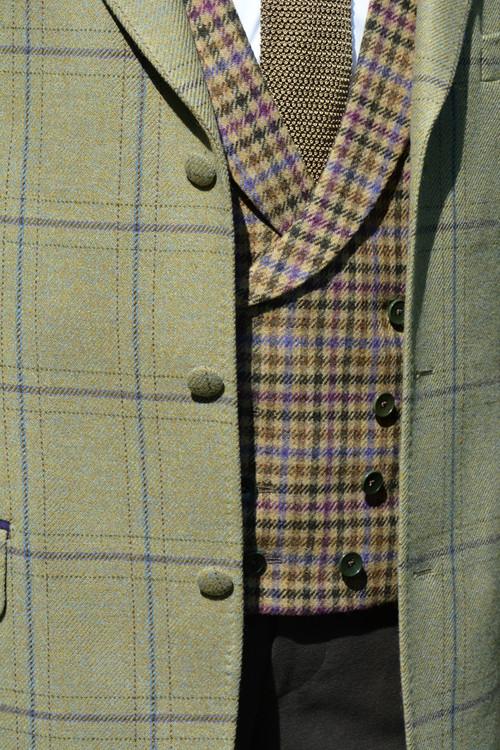 Burnett Tweed Jacket with Chatsworth Tweed Waistcoat