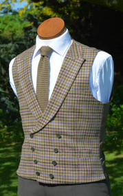 Constable Tweed Double Breasted Waistcoat