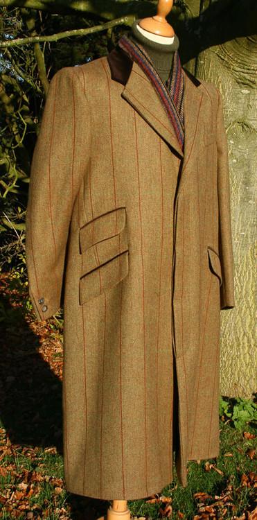 Fara Tweed Overcoat