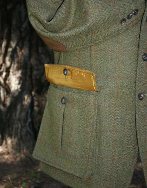 Bellow Patch Pleat Pockets