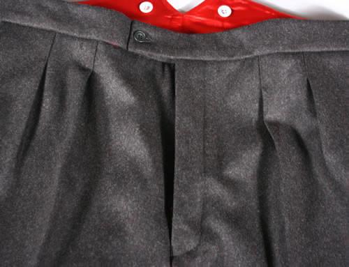 Double Pleat Trousers (inward)
