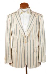 Vintage Stripe Cotton Classic Jacket - Hampton