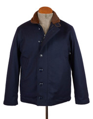Navy Loden Deck Jacket