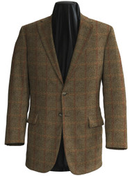 Made to Order Single Breasted Classic Jacket - Glenbuck Tweed