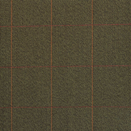 Green Check Covert Cloth