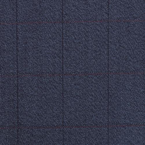 Blue Check Covert Cloth