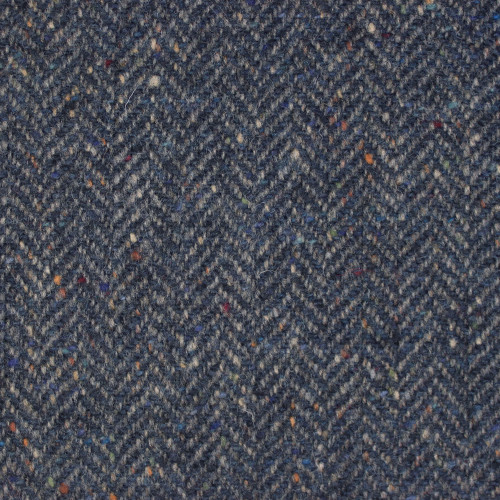 Drizzle  Herringbone donegal Tweed