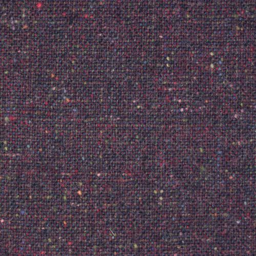 Aubergine Donegal Tweed