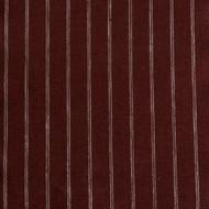 Maroon Stripe Linen