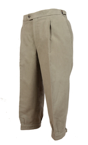 Bookster Dark Lovat Moleskin Breeks with  Ratchet Waistband