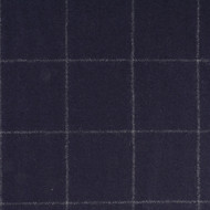 Navy windowpane check flannel suiting
