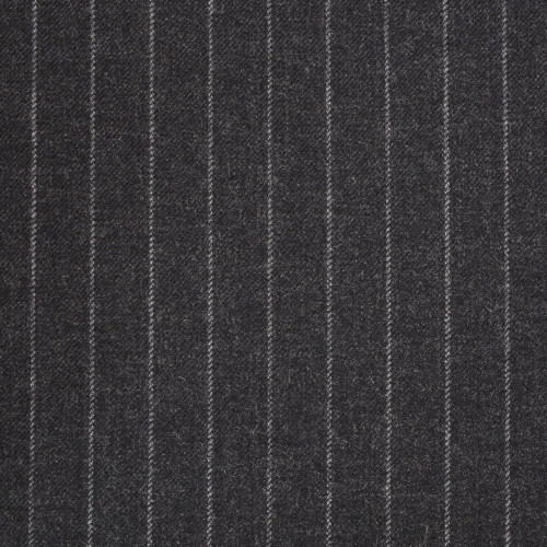 Charcoal Chalkstripe Suiting