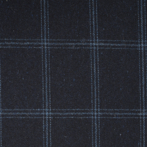 Navy Check Thornproof