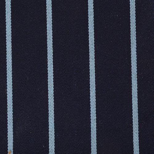 Navy / Light Blue Stripe Blazer Cloth