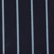 Navy / Light Blue Stripe Blazer Cloth