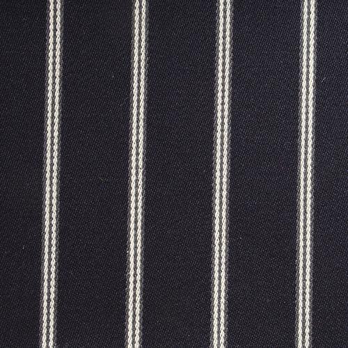 Navy Grey White Blazer Cloth