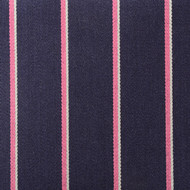 Navy Pink Striped Boating Blazer Cloth