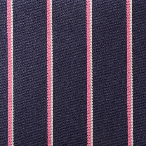 Navy Pink Striped Boating Blazer Cloth