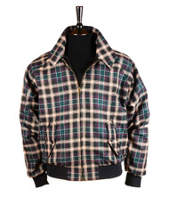 Bookster Tartan Harrington Jacket  Agate 1
