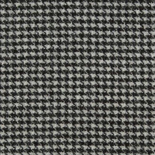 Neutral Mono Houndstooth Check