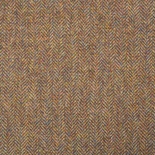 Heather Brown Herringbone
