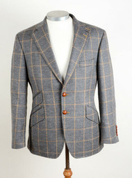 "NEW BOOKSTER STIRLING TWEED HACKING JACKET 38"" SHORT £275 !"