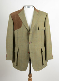 NEW BOOKSTER LAMONT TWEED SHOOTING JACKET 44 SHORT RRP £680 / £340!