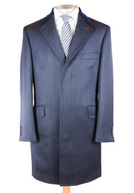 Navy Covert Coat