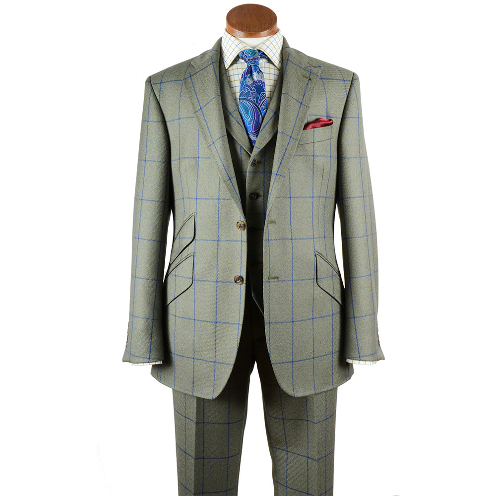 Rannoch Tweed 3 Piece Suit