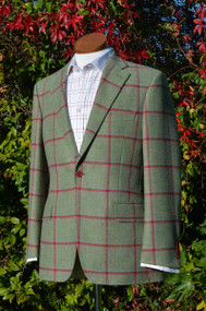 Dapper Tweed Hacking Jacket
