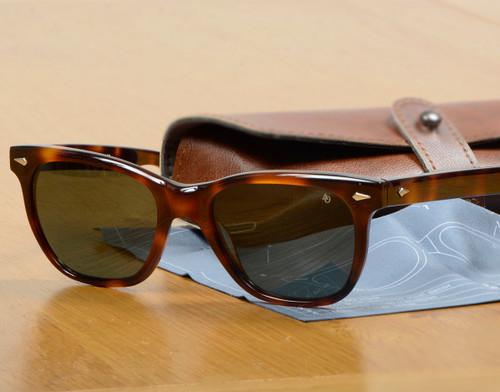 Tortoiseshell Framed Saratoga Sunglasses