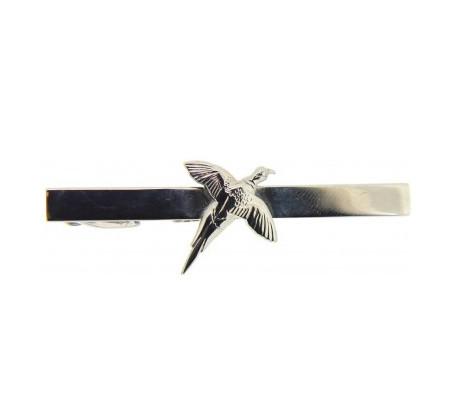 Pheasant Tie Clip