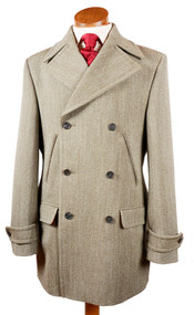 Bookster Heavy Weight Keepers  Tweed Car Coat